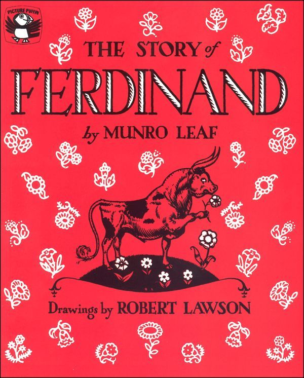 5. The Story of Ferdinand The Story of Ferdinand is a classic tale that few of your relatives would balk at being read to their children. In case you don't know about this book, it tells the story of a peaceful bull who likes to spend his time among the flowers and trees. Unfortunately, some men see him and think he would be a good fit for their bullfights. This evergreen story can help your little one understand that like humans, animals don't always fit into a prescribed box or stereotype…