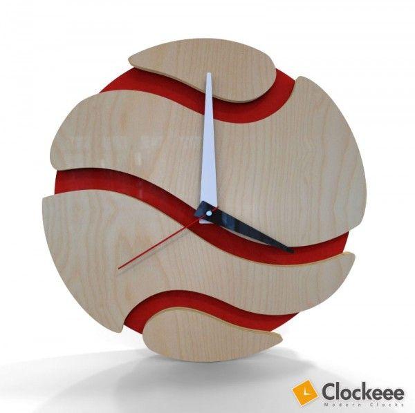 modern wall clocks by clockeee