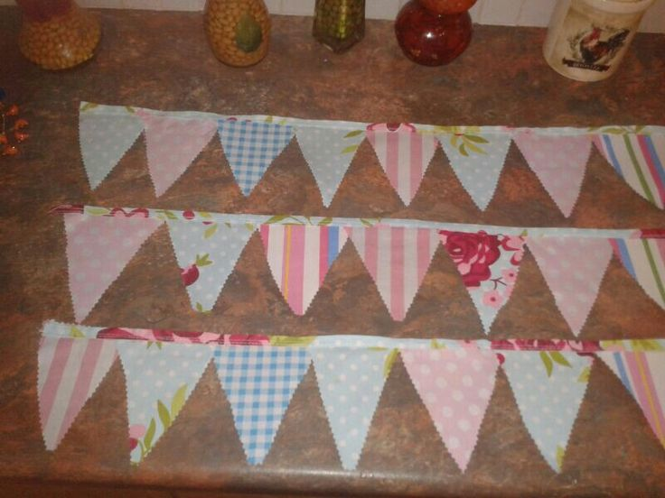 FUNKY BUNTING FOR HOUSE AND GARDEN SHOW!