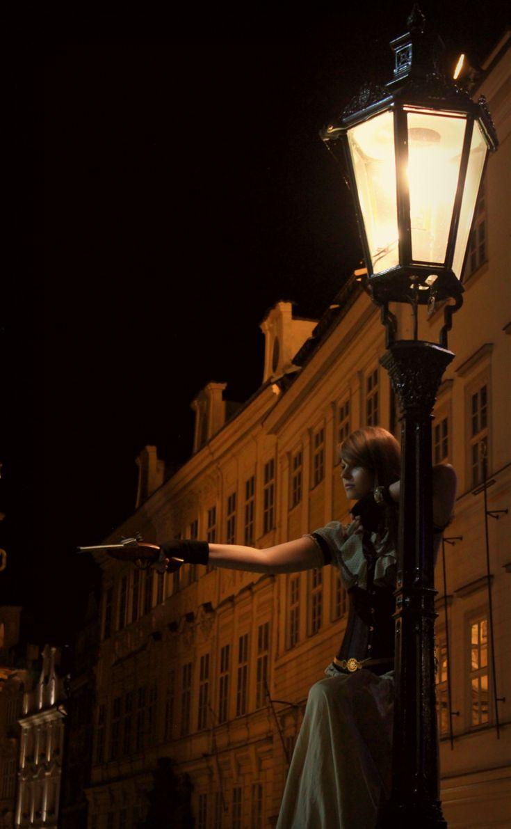 Prague - steampunk night by badzia90.deviantart.com on @DeviantArt