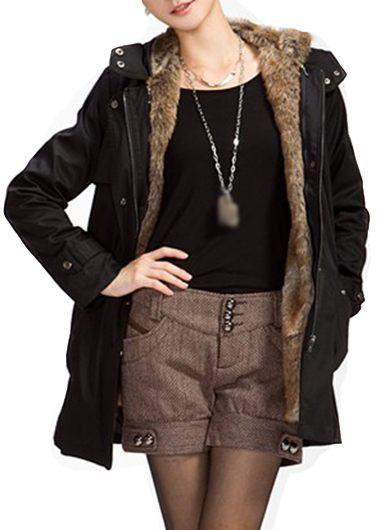 1000  ideas about Black Parka Coat on Pinterest | Black parka