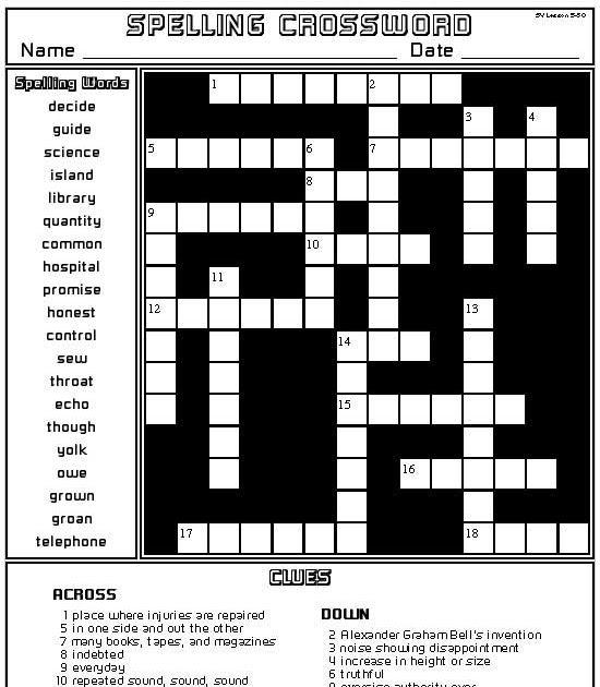 Best Representation Descriptions Woodworking Tools Crossword Puzzle