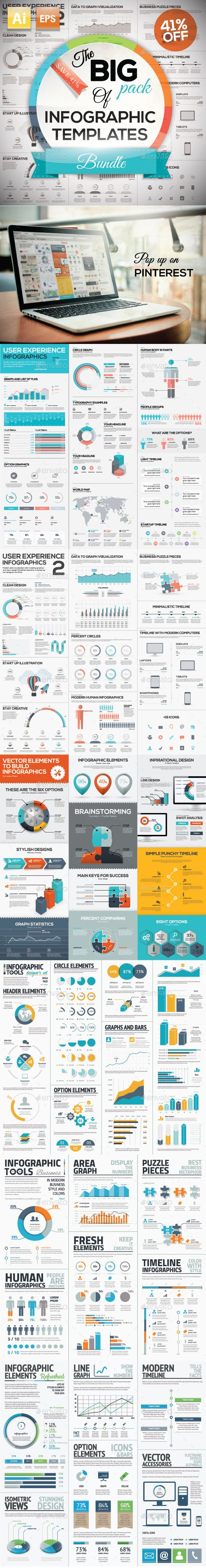 Want to build an #Infographic? Get tons of downloadable resources here.