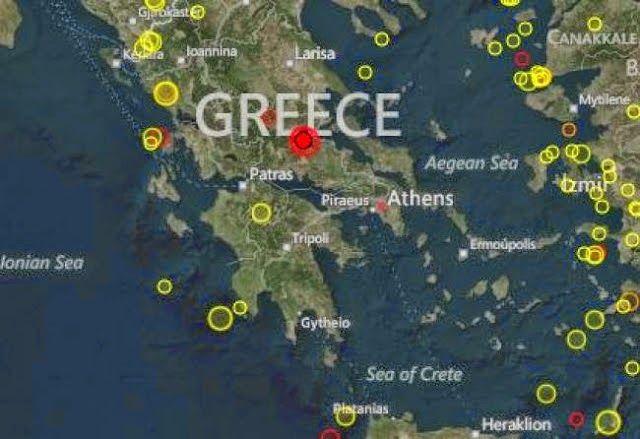Ελληνικό Καλειδοσκόπιο: ΣΕΙΣΜΟΙ Live