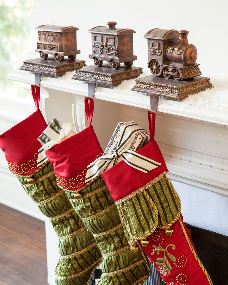 1000 ideas about stocking holders on pinterest for Mantle holders