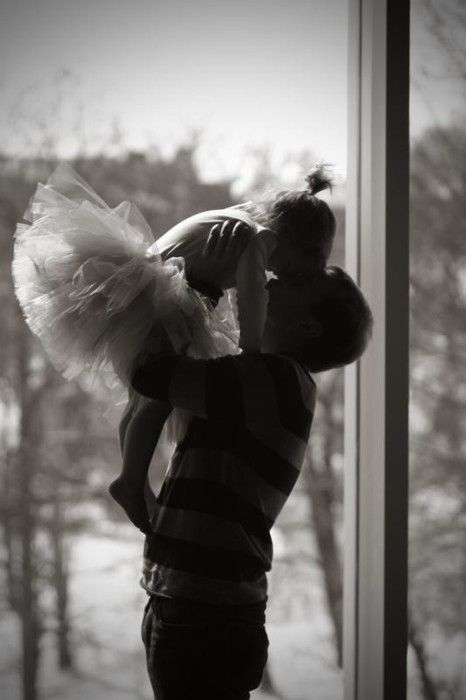 A girl's first love..Daddy :)