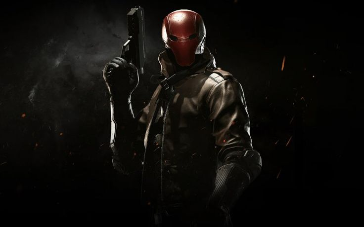 Red hood, video game, injustice 2