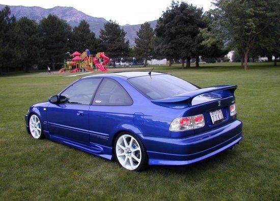 1994 Honda Civic Hatchback 9