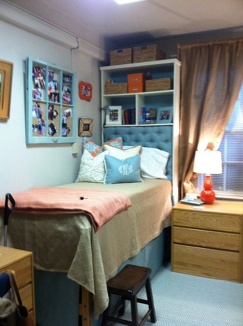Decorating Ideas > Dorm Room  Dorm!  Pinterest  Headboards, Dorm And Shelves ~ 165557_Dorm Room Privacy Ideas