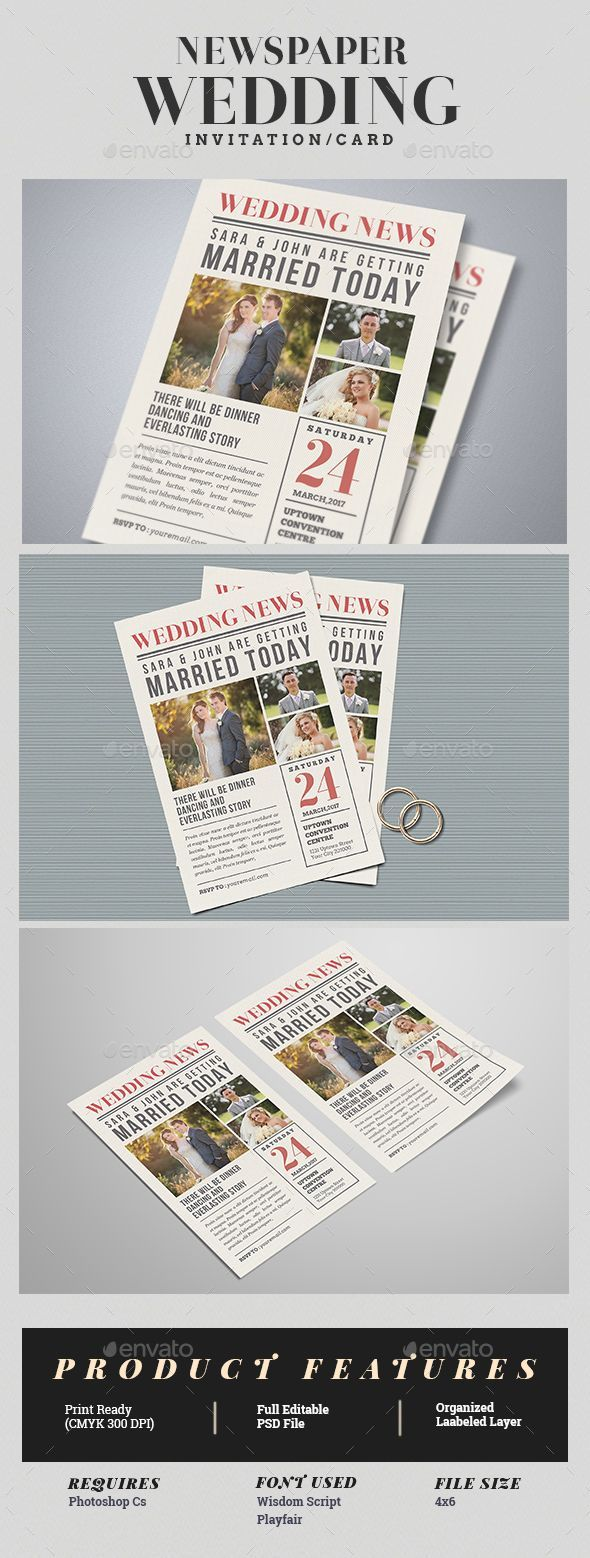 example0th wedding anniversary newspaper announcements%0A    best Wedding  u     Engagement Newspaper Templates images on Pinterest   Role  models  Template and Templates