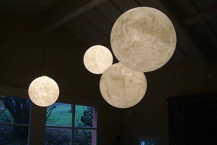 Moon lamps!