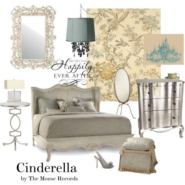 11 best disney inspired interiors images on pinterest for Cinderella bedroom ideas