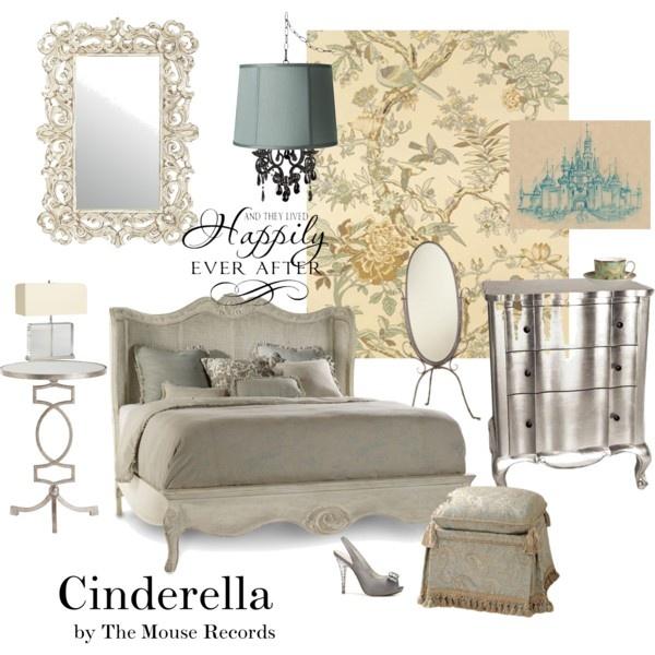 11 best disney inspired interiors images on pinterest for Cinderella bedroom ideas