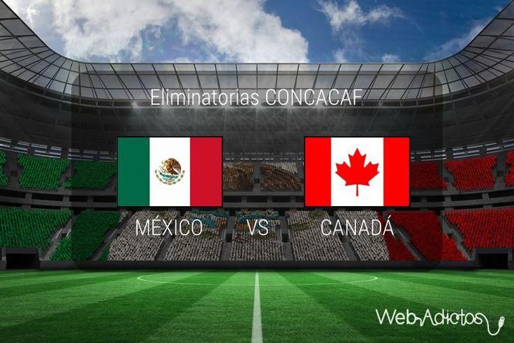 México vs Canadá, Eliminatorias CONCACAF 2018 ¡En vivo por internet! - https://webadictos.com/2016/03/29/mexico-vs-canada-eliminatorias-concacaf/?utm_source=PN&utm_medium=Pinterest&utm_campaign=PN%2Bposts
