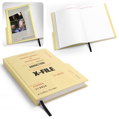 X-Files Case File Hardcover Journal