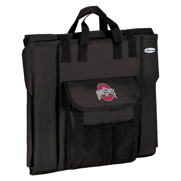 Portable Stadium Seats NCAA Ohio State Buckeyes Black