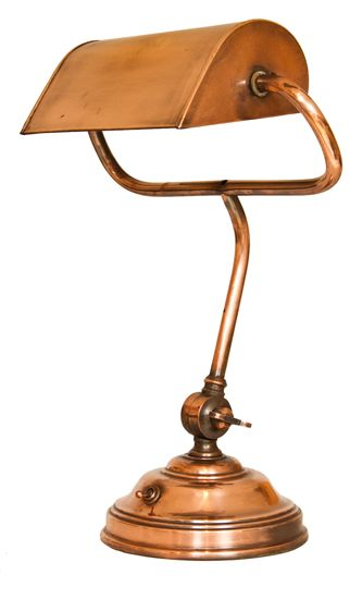 Best 25 bankers lamp ideas on pinterest green lamp green study 1920s copper and brass bankers lamp more aloadofball