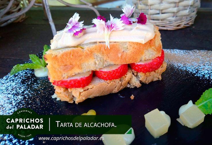 No te puedes perder esta deliciosa tarta de alcachofa creada por Juricael Romero, chef ejecutivo de Restaurante Lobbo y Miguel García Chef, chef ejecutivo de Caprichos del Paladar. ¡Deliciosa!
