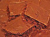 getestet:   Schokoblechkuchen mit Zimt (ohne Butter, ohne Eier) und mit Hafermilch gemacht sogar vegan