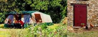 Kamperen op kleine kindvriendelijke camping