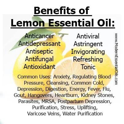 Natural Lemon Essential Oil Blend