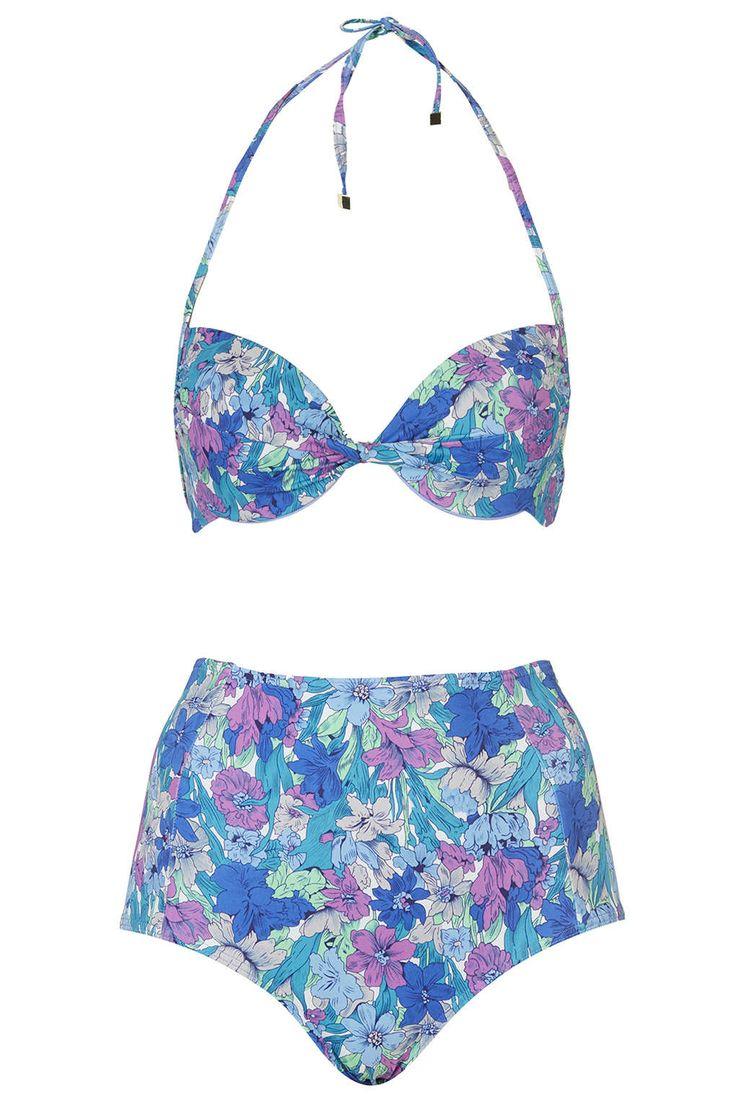 floral high waisted bikini - photo #1