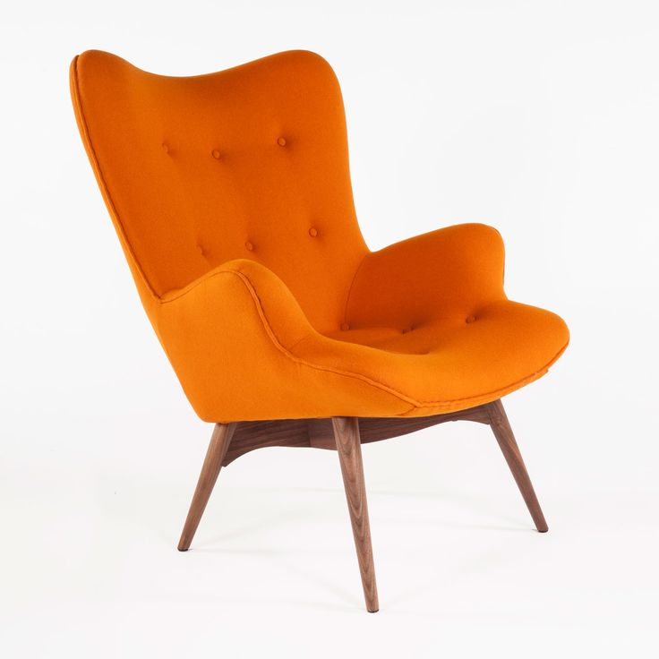 A Pop Of Color For The Living Room Orange ChairsAccent