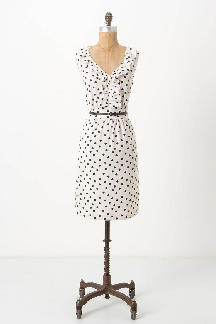 polka dotted dress ++ hi there / karen walker