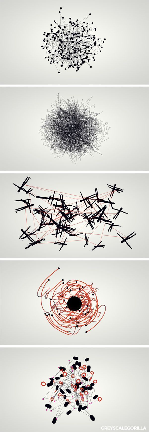 Beautiful abstracts of networks in nature. The future of marketing is here.