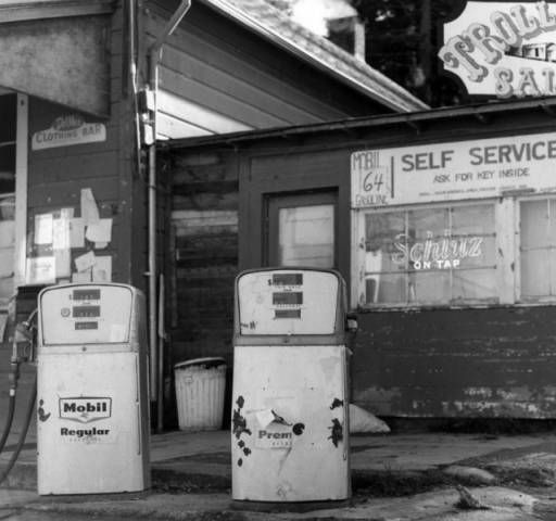 Trolley Stop Saloon and self service gas station, Freestone, California :: North…
