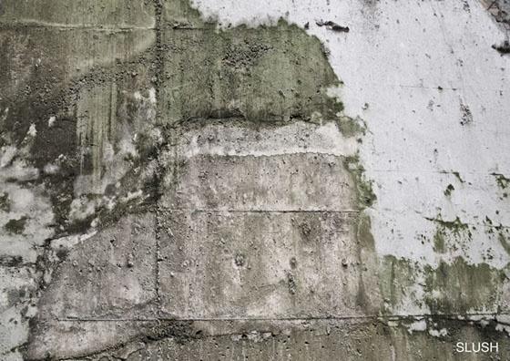 Slush finish amazing digitally printed concrete wallpaper for Concrete finish wallpaper