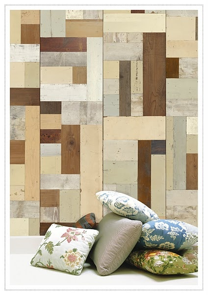 Great More Faux Reclaimed Wood Wallpaper. Great Pictures