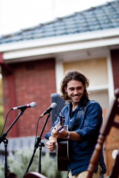Matt Corby. He has the most beautiful, soulful, gospel, raspy voice. It's so wonderful! And he's Australian...so just get with it already.
