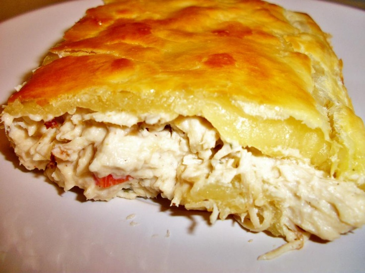 Lazy Ranch Cream Cheese Chicken Puff - Puff Pastry, Ranch Dressing Mix,