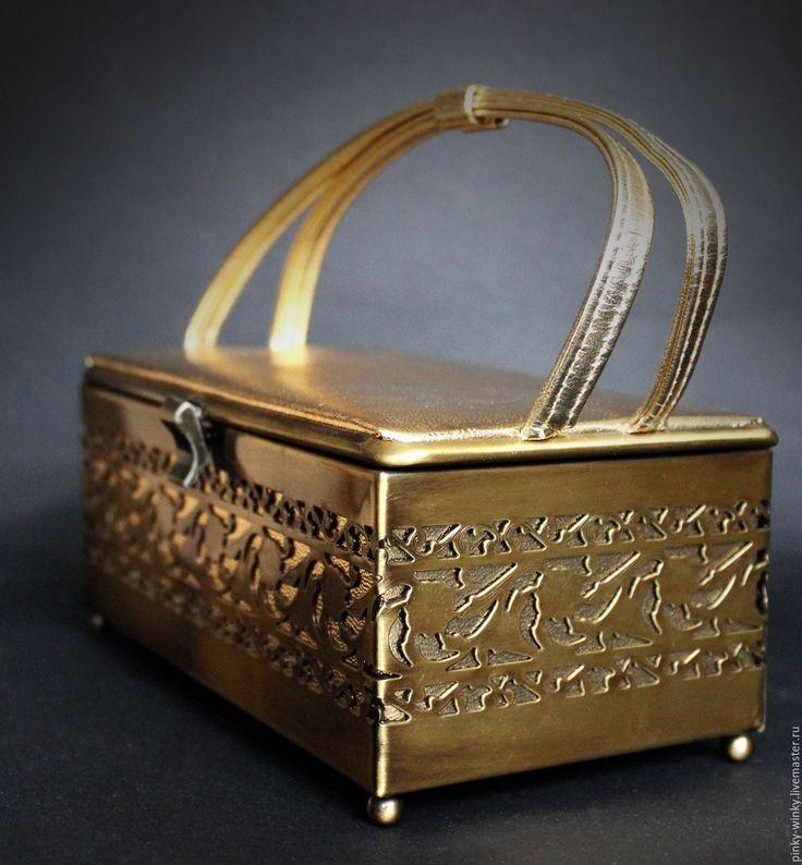 Купить Винтажная сумка Ларец от Ande - 50-е гг - сумка, ларец, ВЕЧЕРИНКА, свадьба