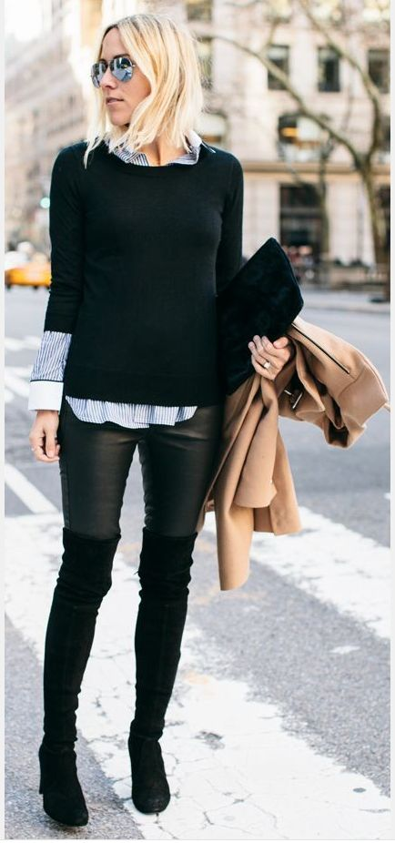 over the knee boots for short legs - Google Search