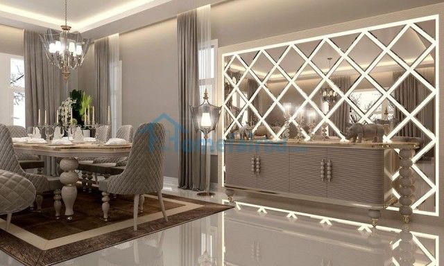 Luxury Home Decor Living Room Mirrors, Wall Mirror Panels For Living Room