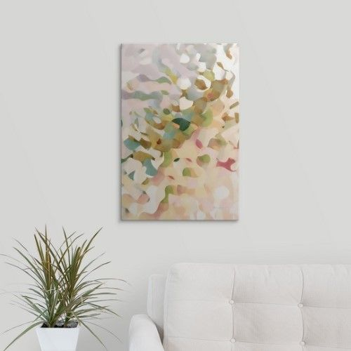 Mark Lawrence Premium Thick-Wrap Canvas Wall Art Print entitled I Will Rescue. Psalm 12:5. Modern Abstract Fine Art