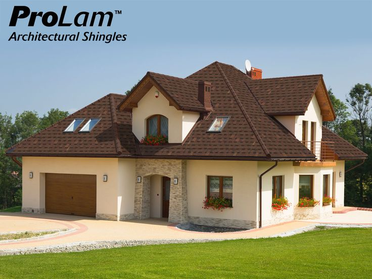 Beautiful ProLam™ Shingles In Burnt Sienna Deliver The Designer Look Of An  Architectural Shingle At A