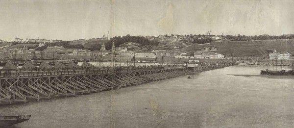 Фотография ярмарки в Нижнем Новгороде. [1870-1880 гг.]