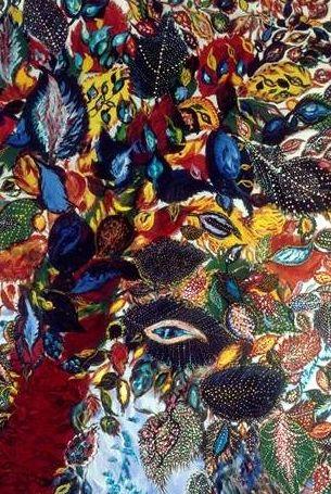 Pintura de la artista Seraphine Louis.