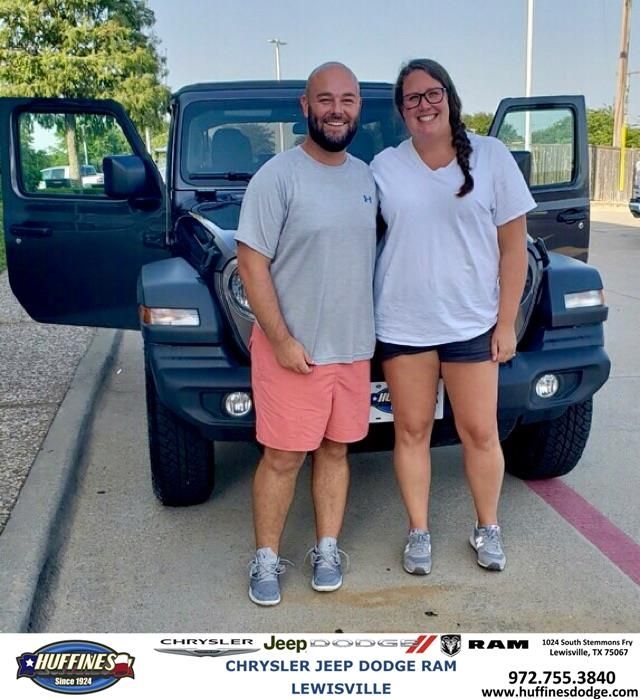 Congratulations Monica And Adam On Your Jeep Wrangler Unlimited From Kelly Carlin At Huffines Chrysler Jeep Dodge R Chrysler Jeep Jeep Dodge Dodge Trucks Ram