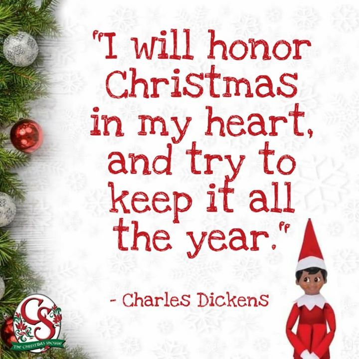 Let Us Remember Not Only To Celebrate Christmas All Year But To Honor It And Keep The Christmas Spirit Ali Sunday Inspiration Year Quotes Making Spirits Bright