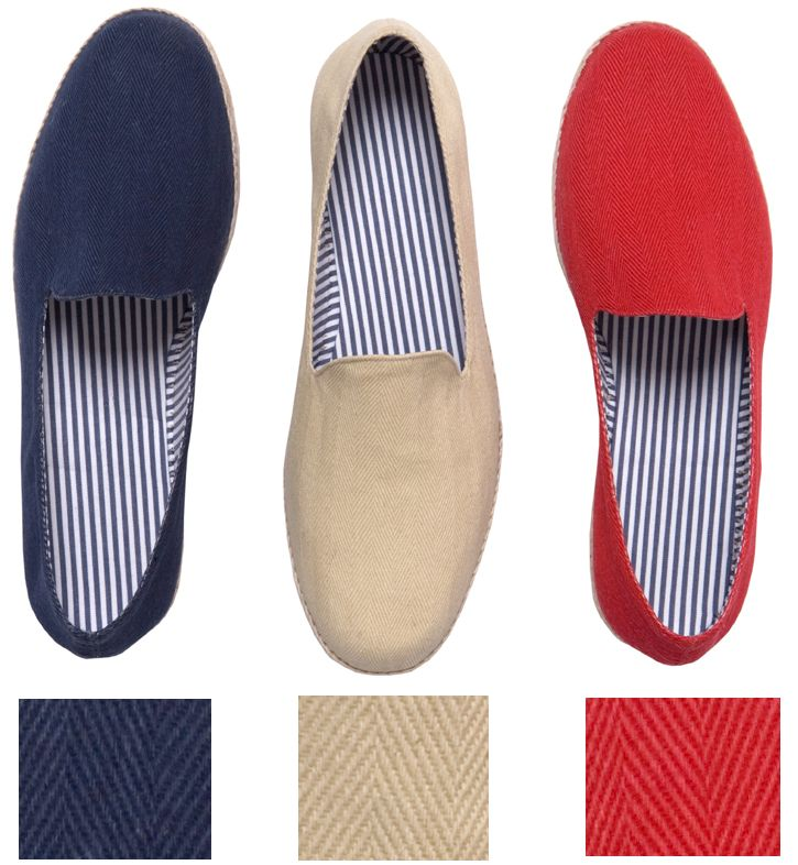 Characteristically matter-of-fact AMANCIO just makes great things happen.100 % cotton upper, cotton/poly lining and foot bed on jute espadrille platform with full rubber coating on bottom.Made in Spain for www.espadrillesetc.com