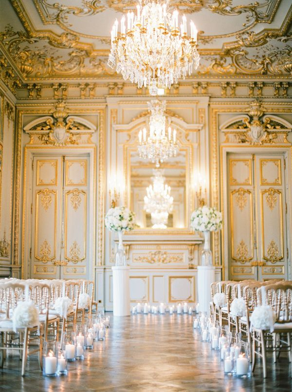 white-gold-wedding-reception-hall http://itgirlweddings.com/5-wedding-planning-tips/