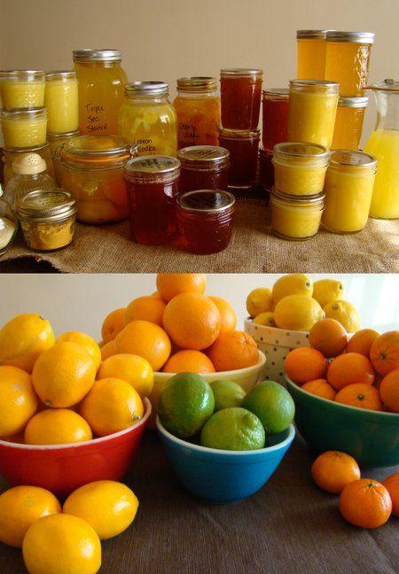 Preserving Citrus