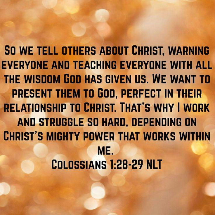 Colossians 1:28-28