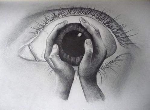 Abstract Eye Drawing | Art | Pinterest | Draw Eye Images And Street Artists