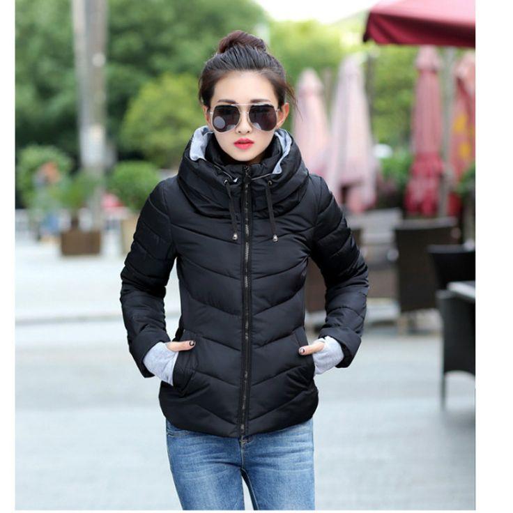 2017 New Arrival Women's Winter Coat Fashion Shand Collar Parka Female Cotton Short Jacket Padded Slim Warm Outwear Jetzt bestellen unter: https://mode.ladendirekt.de/damen/bekleidung/jacken/winterjacken/?uid=76b06f78-f671-5e49-bd3b-51452fb6fce2&utm_source=pinterest&utm_medium=pin&utm_campaign=boards #winterjacken #bekleidung #jacken