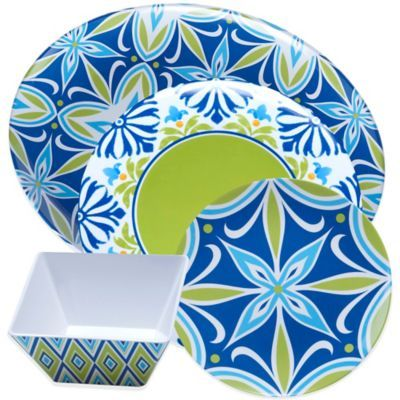 Certified International Mediterranean Dinnerware and Serveware Collection - BedBathandBeyond.com